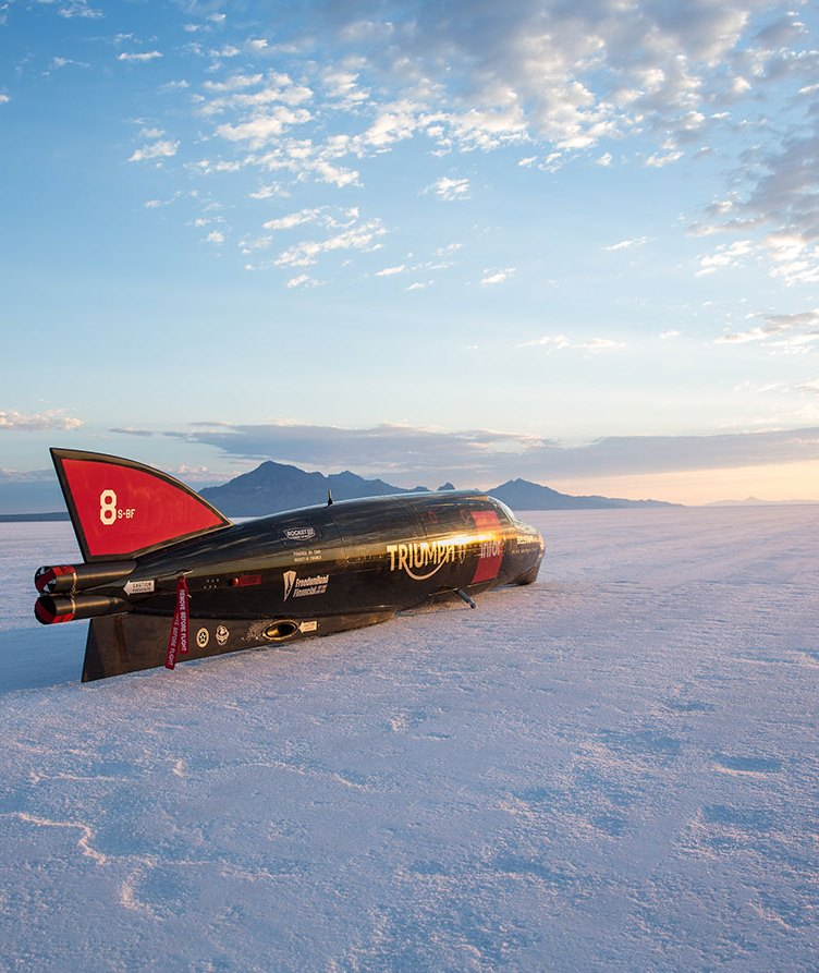 Triumph land speed record image