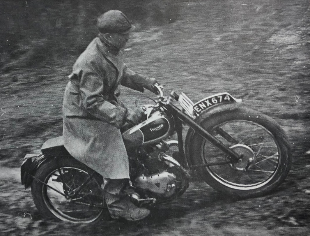 Triumph Motorcycle Retro image