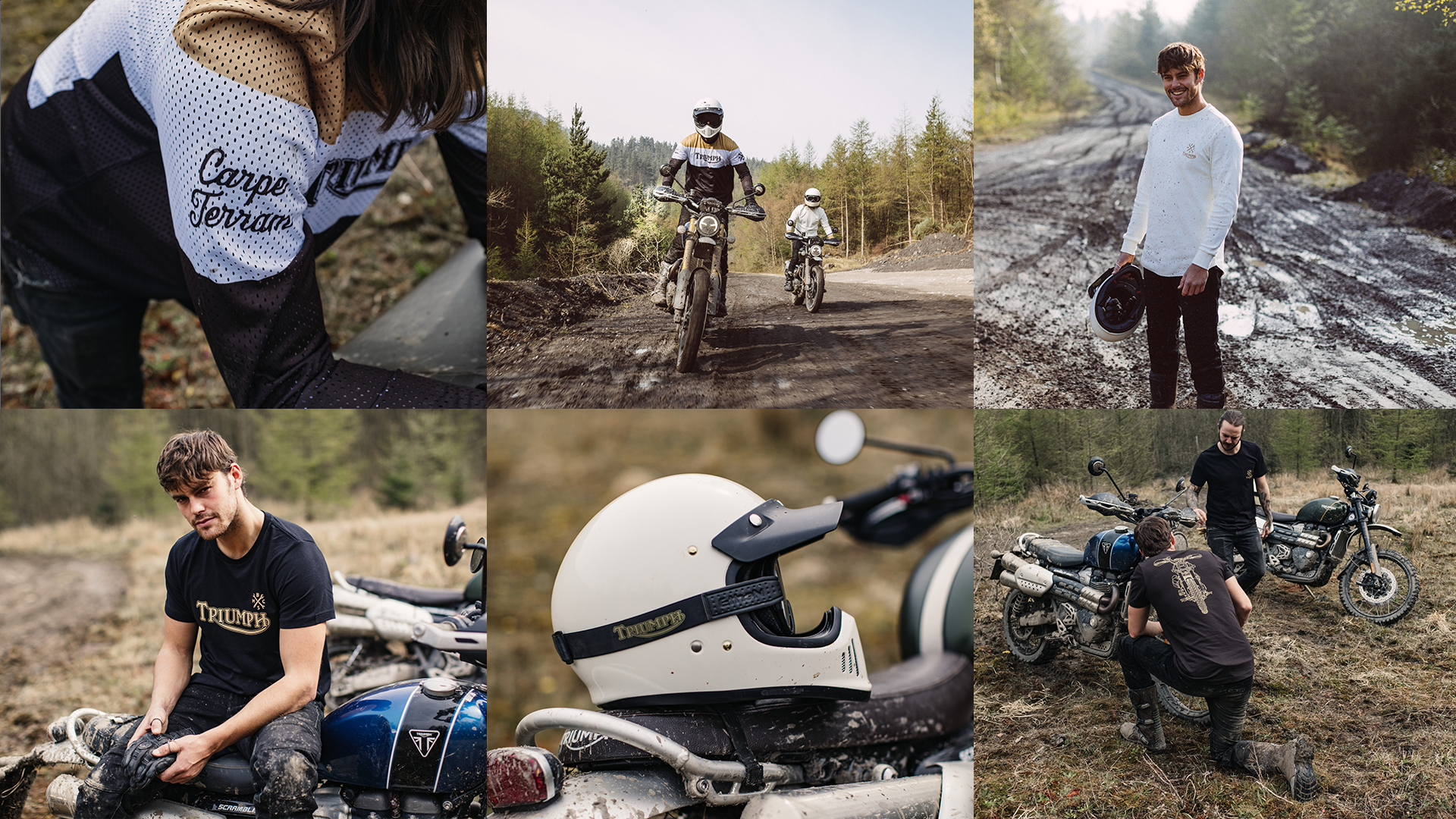 Triumph and Bike Shed Collaboration inspired by the Triumph Scrambler 1200