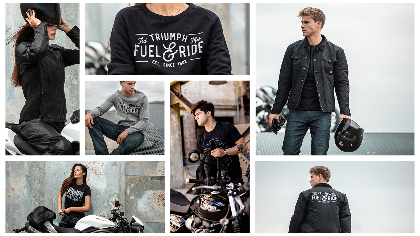 Triumph Motorcycles Roadster Clothing Collection Spring Summer 2019