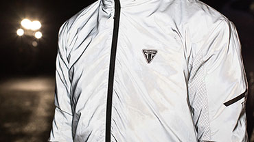 Triumph Motorcycles Clothing Riding Essentials Reflective Jacket Model Shot