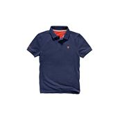 Plain Polo - Navy