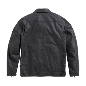 Deacon D-pocket Wax Cotton Black