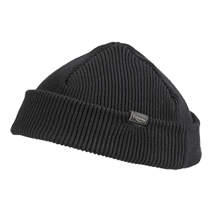 Farrington Fisherman Rib Beanie Black