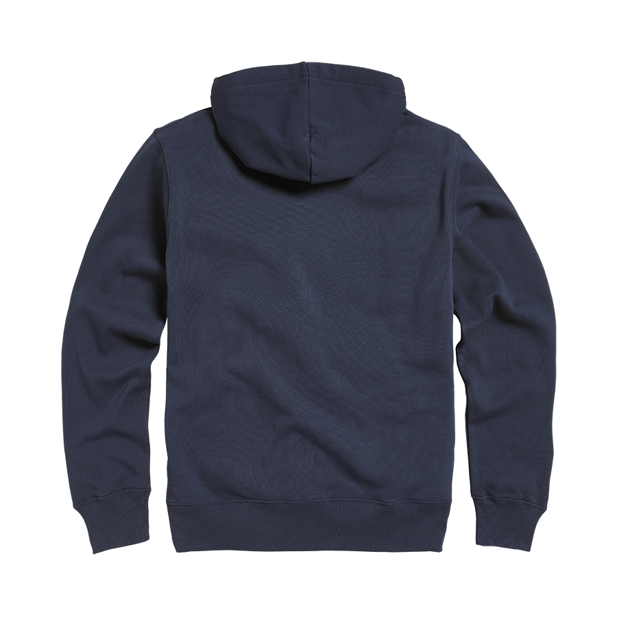 Lavenham Applique Logo Zip Through Hoody Black Iris (Navy)