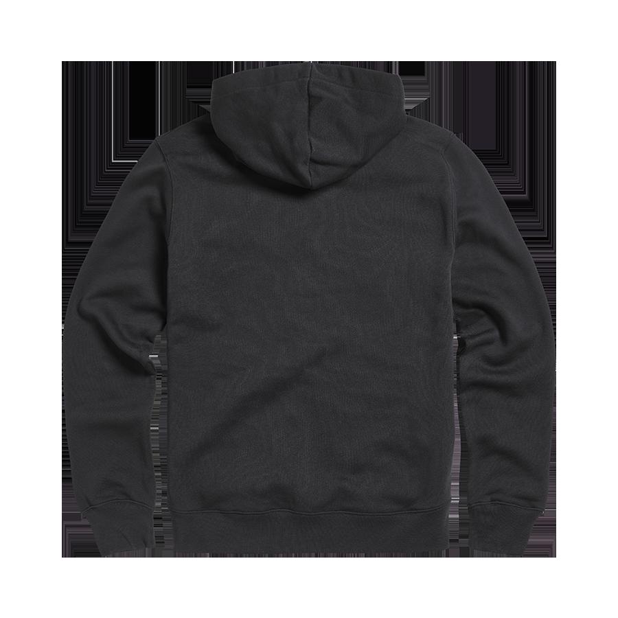 Lavenham Applique Logo Zip Through Hoody Jet Black