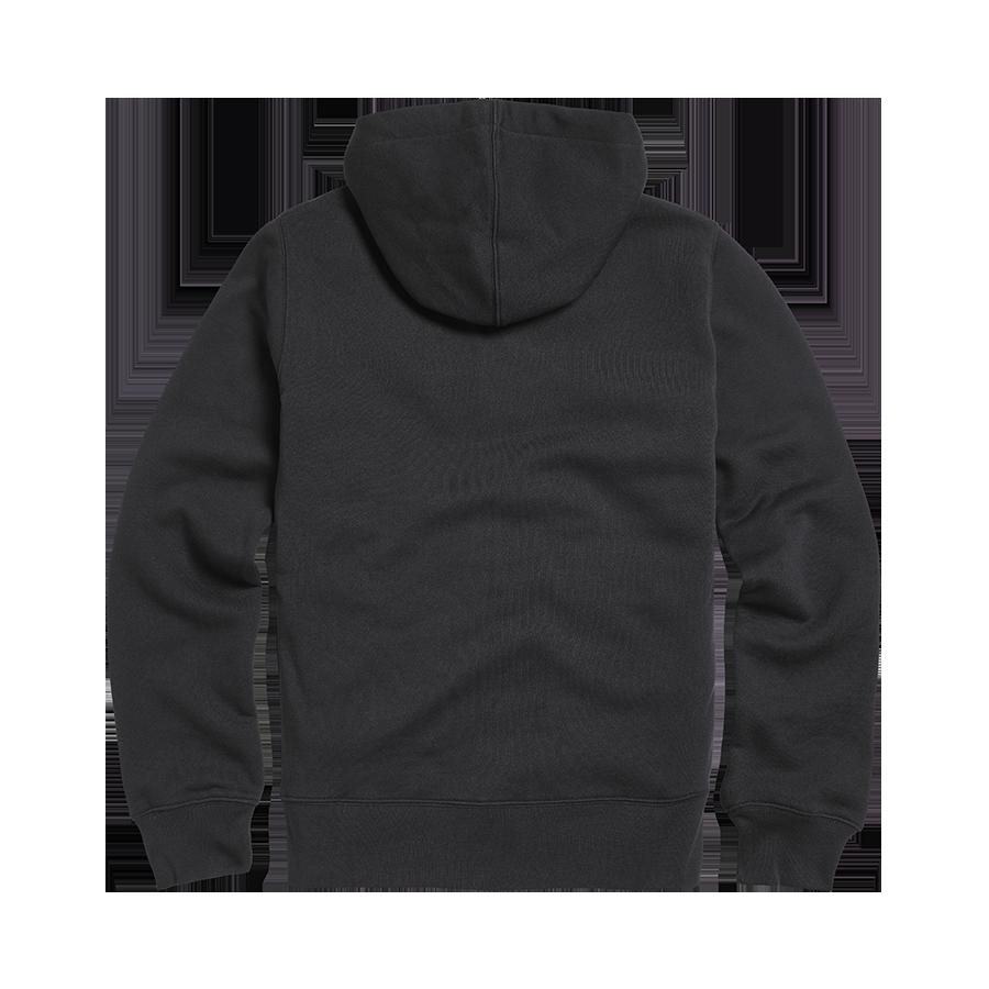Lymm Ladies Applique Logo Zip Through Hoody Black