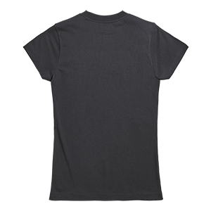 Gwynedd Ladies Embroidered T-Shirt Black