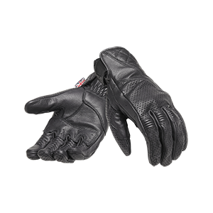 MGVS20118 Black Leather Gloves