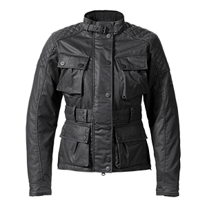 Beck Black Ladies Motorcycle Jacket