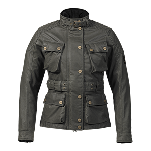 Beck Ladies Motorcycle Jacket Khaki