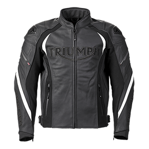 Triple Black Leather Motorcycle Jacket