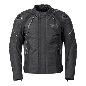 MTPS20532 Black Biker Jacker with Zip Up Pockets