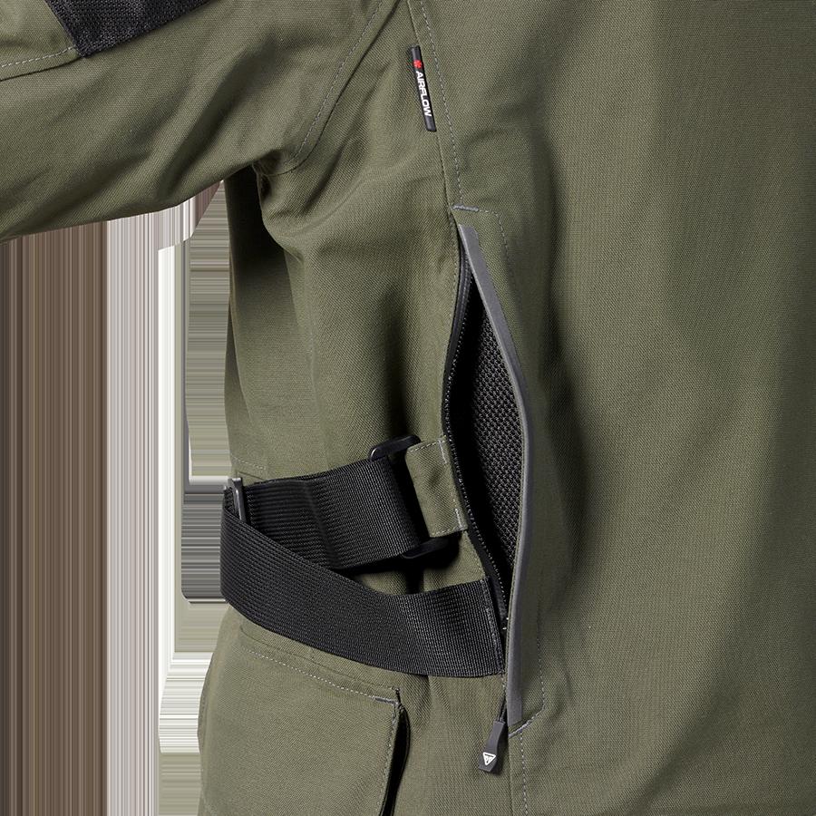 Leith Adventure Tourer Jacket Khaki