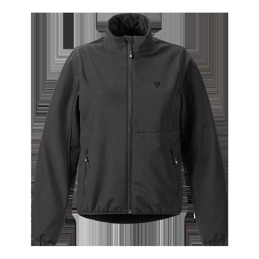 Womens Mid Layer Soft Shell Jacket Black