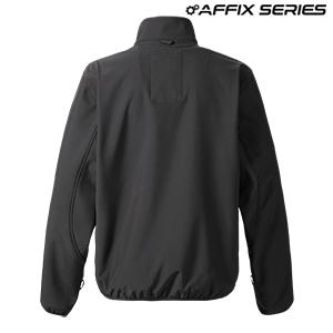Mens Mid Layer Soft Shell Jacket Black