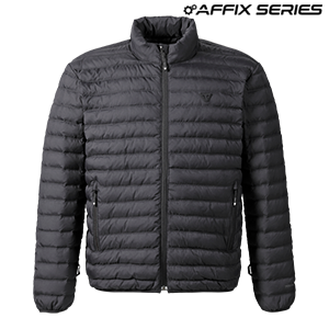 Mens Mid Layer Down Jacket Black
