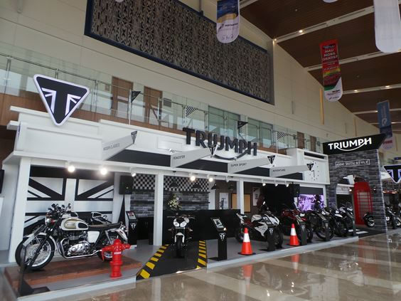 Triumph Launch News Indonesia