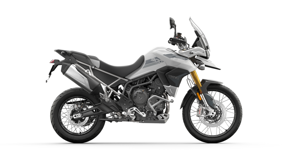 Tiger 900 Rally Pro Pure White RHS CGI