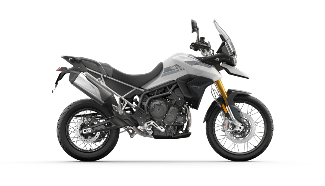 Tiger 900 Rally Pure White RHS CGI