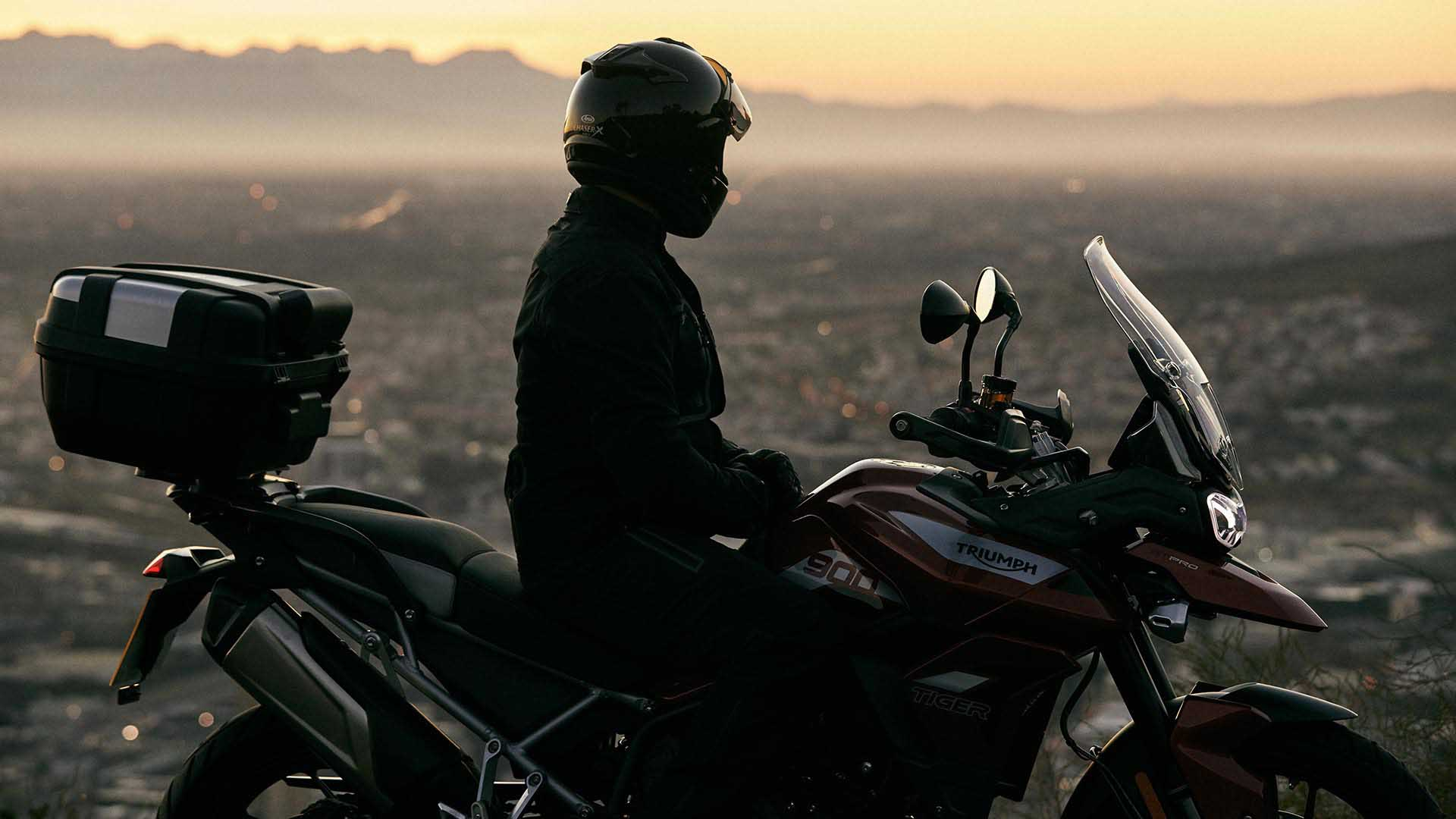 South Africa landscape shot with the Triumph Tiger 900 GT Pro