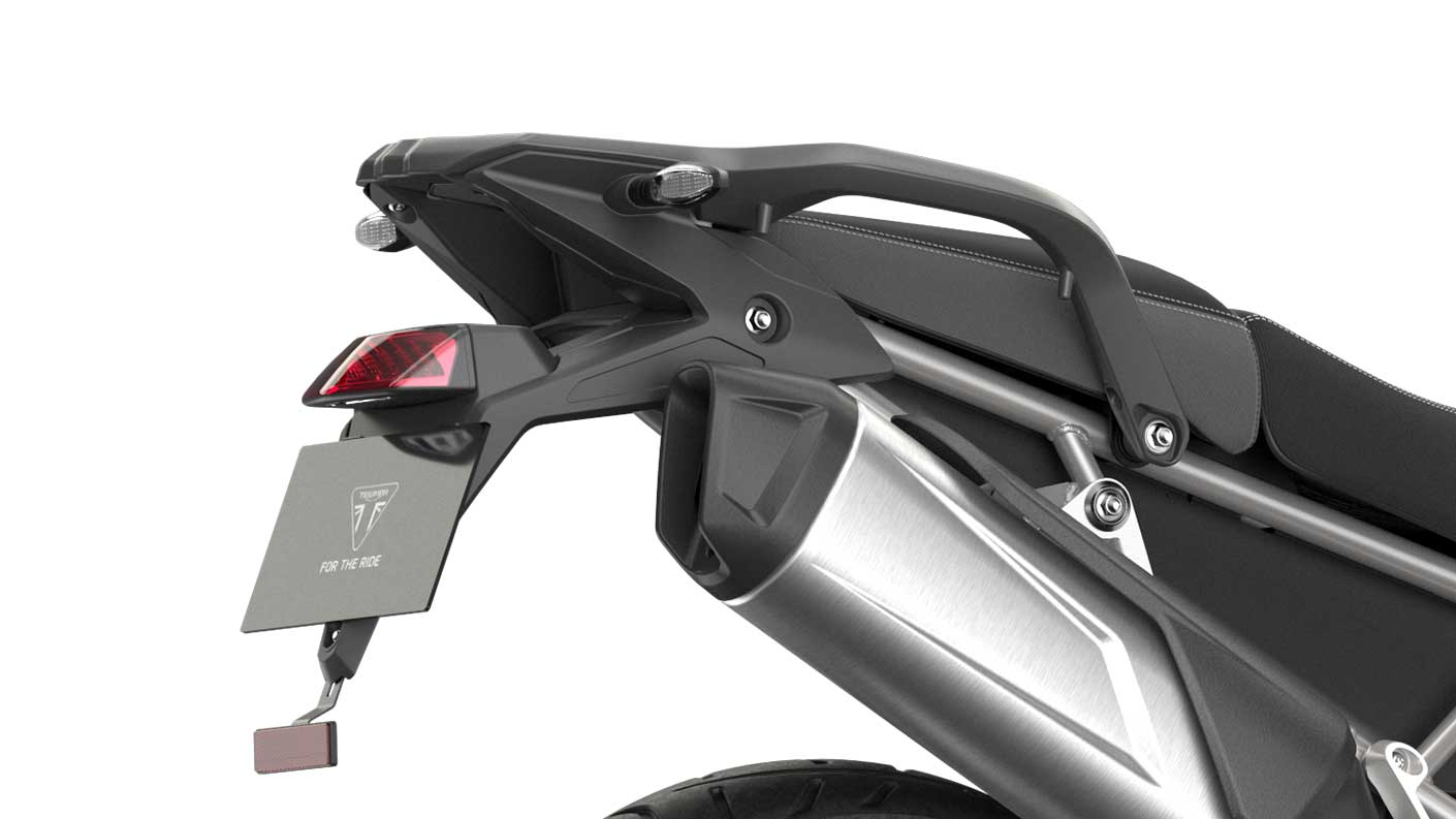 CGI close-up of Tiger 900 GT LED tail-light