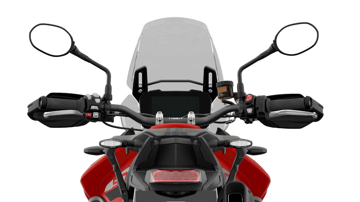 Triumph Tiger GT CGI close up