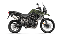 Tiger 800 XCX in Matt Khaki Green
