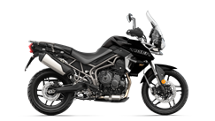 Triumph Tiger 800 XRT in Matt Jet Black CGI