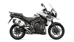 Tiger 1200 XR Right CGI in Crystal White