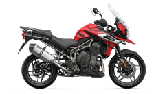 Triumph Tiger 1200 XRt in Korosi Red - CGI