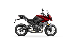 Tiger Sport 660 in Korosi Red and Graphite