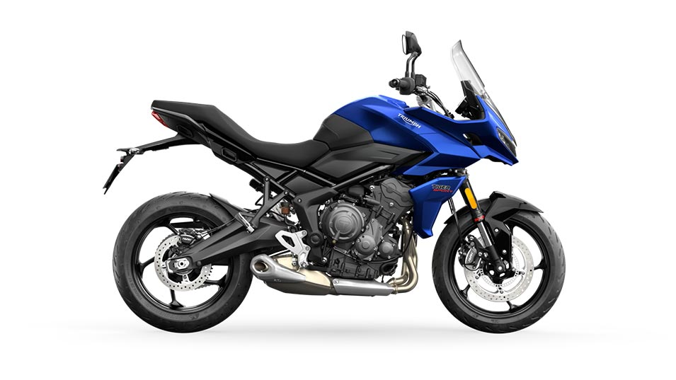 Tiger Sport 660 in Lucerne Blue and Sapphire Black