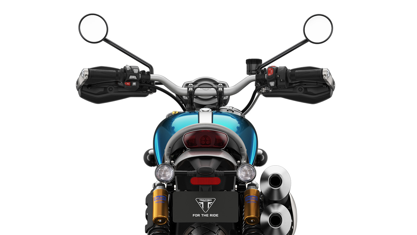 Triumph 2021 Scrambler 1200 XE Switches