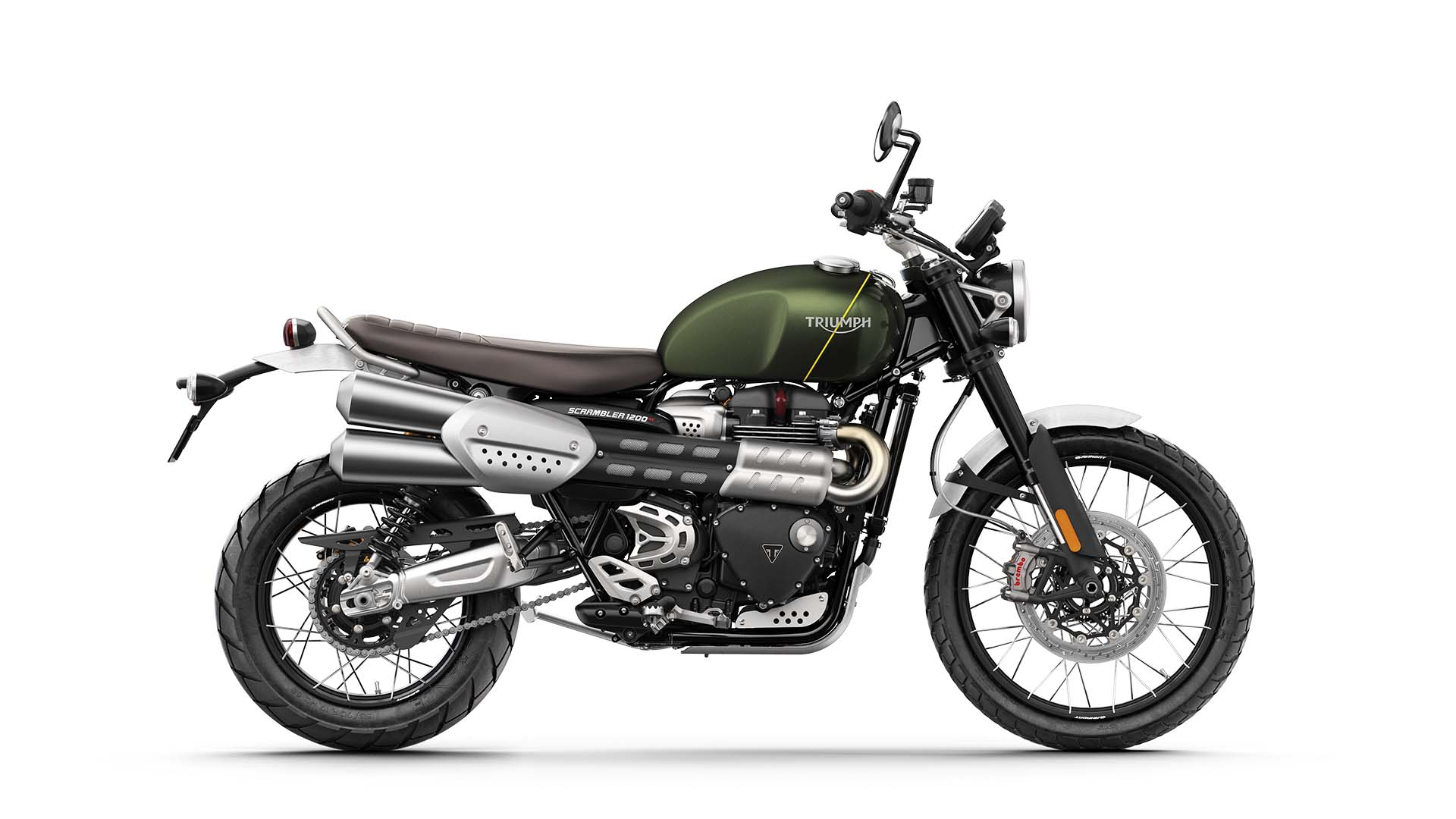 Triumph Scrambler 1200 XC Side Shot