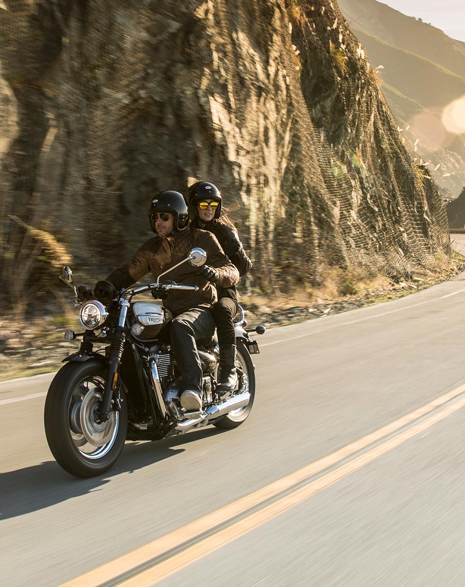 Bonneville Speedmaster For The Ride