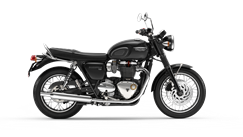 Triumph bonneville T120 motorcycle side on