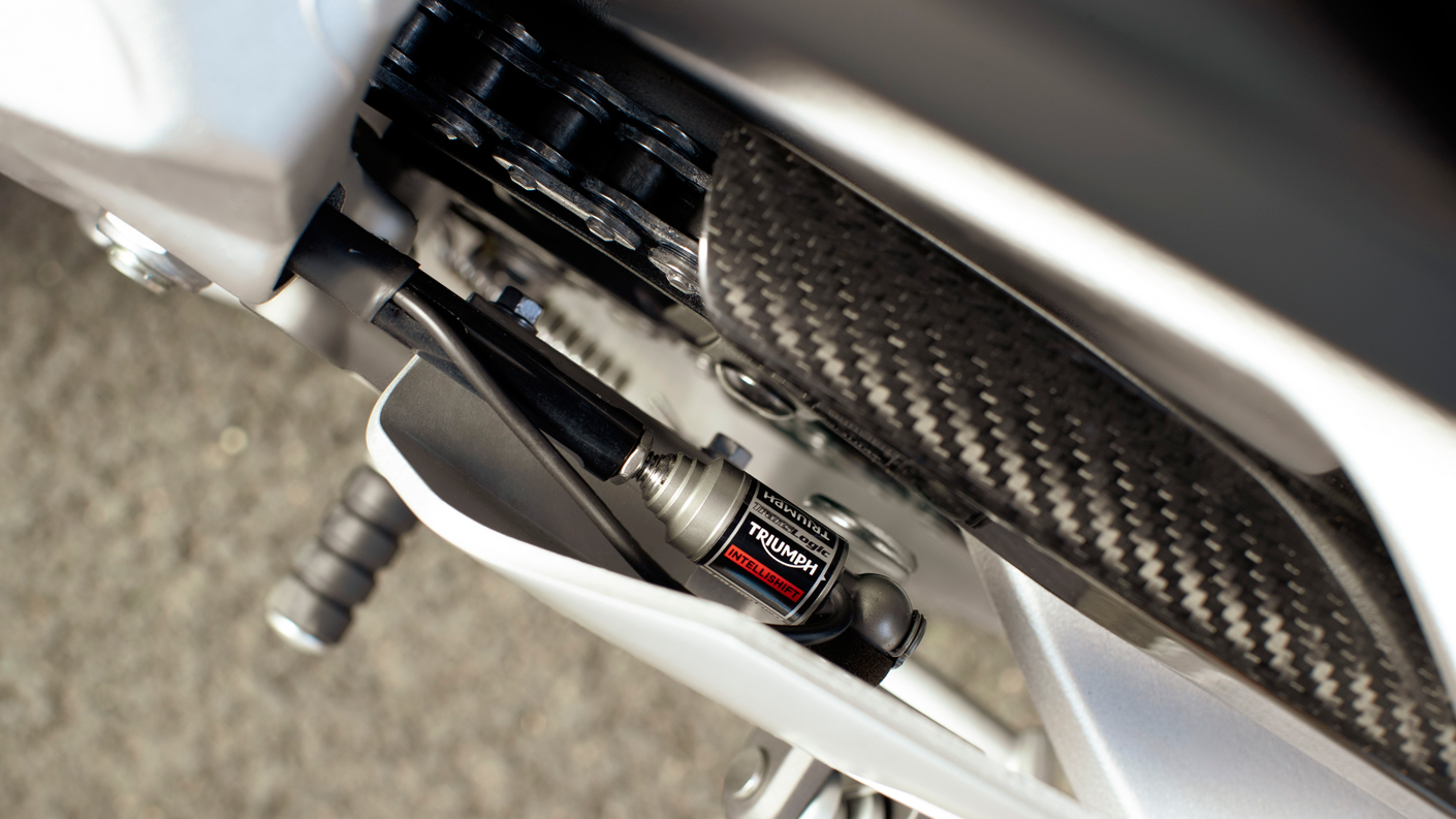 Triumph USA Daytona Moto2™ 765 shift assist