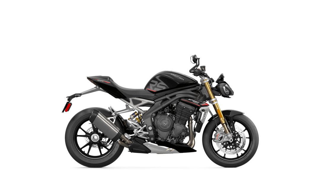 Speed Triple in Sapphire Black