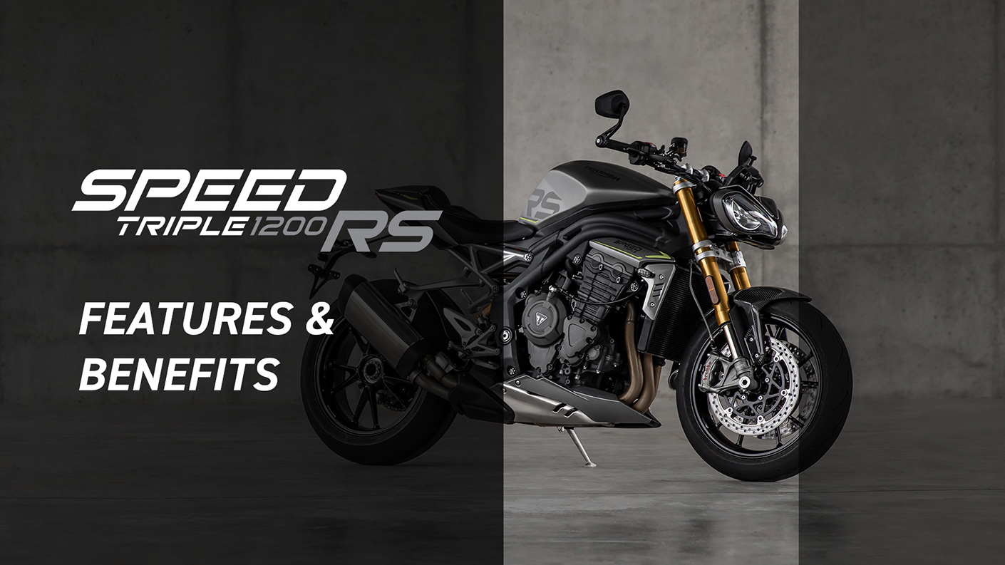 Speed Triple 1200 RS Features and Benefits