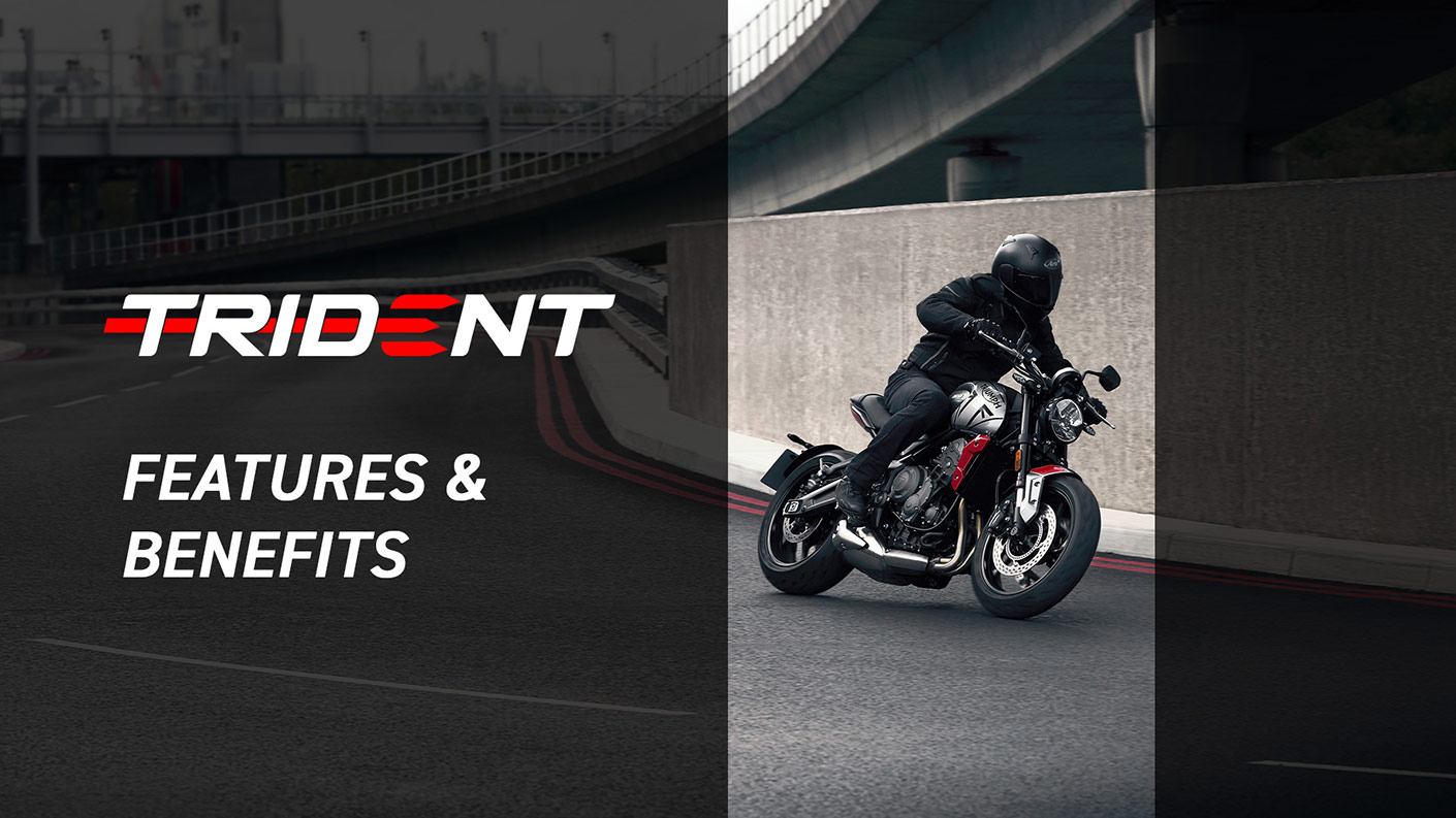 Triumph Trident 660 Features and Benefits