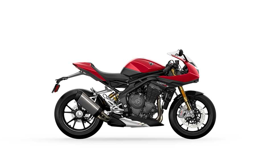 Triumph Street Triple 1200 RR in Red Hopper and Storm Grey