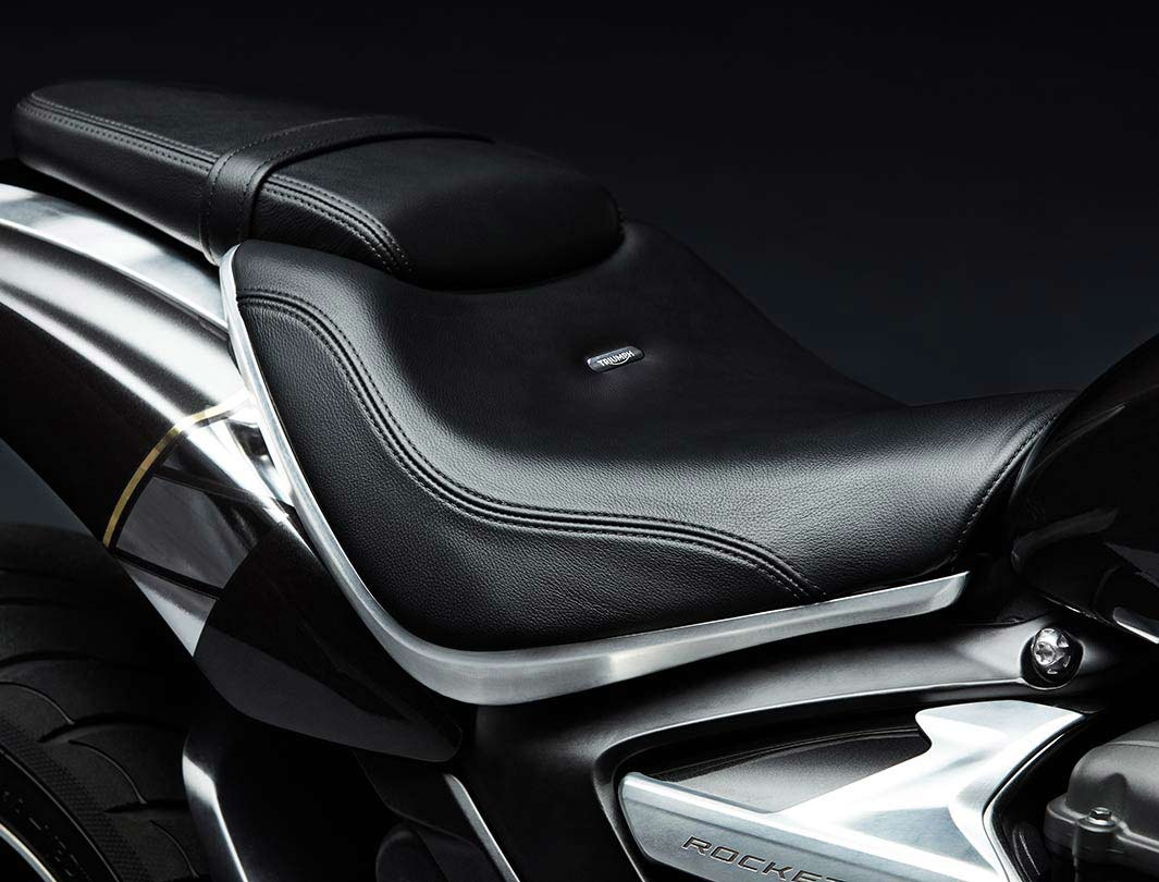 Triumph Rocket 3 TFC interchangeable twin/single seat setup