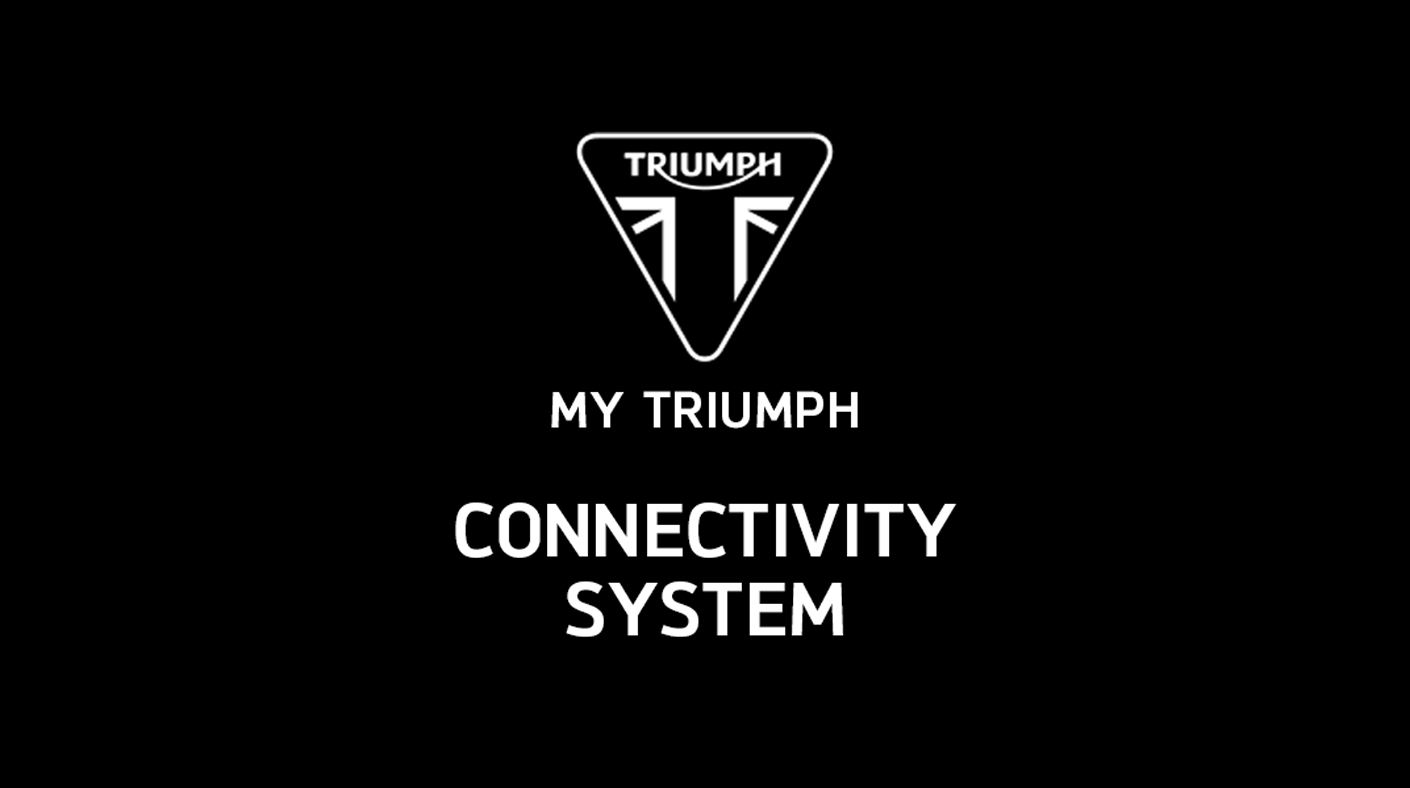 My Triumph Connectivity System
